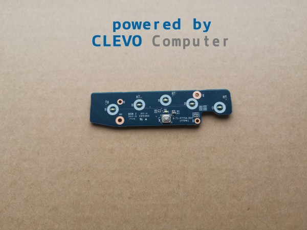 6-71-P7754-D03 Z6-77-P7754-D03-B Power Led Board CLEVO P775TMx