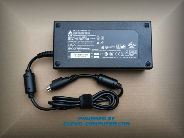 230W (4-PIN) NETZTEIL (POWER ADAPTER) ADP-230EB 19.5V 11.8A CLEVO NOTEBOOKS