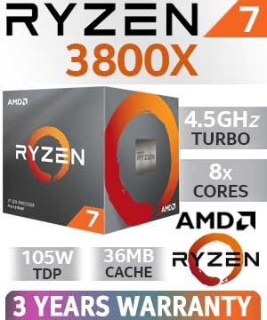 Amd Ryzen 7 3800x 8x 3 90ghz Boxed 100 100000025box Clevo Computer Integrator Of Configurable Computer Systems