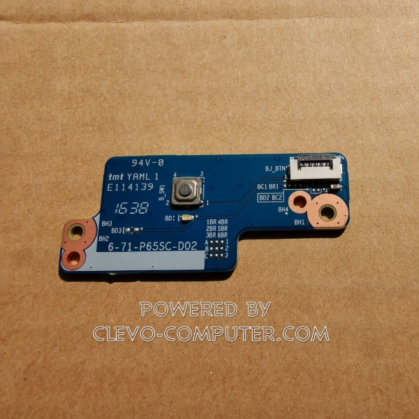 6-71-P65SC-D02 Power Board CLEVO P65x P67x