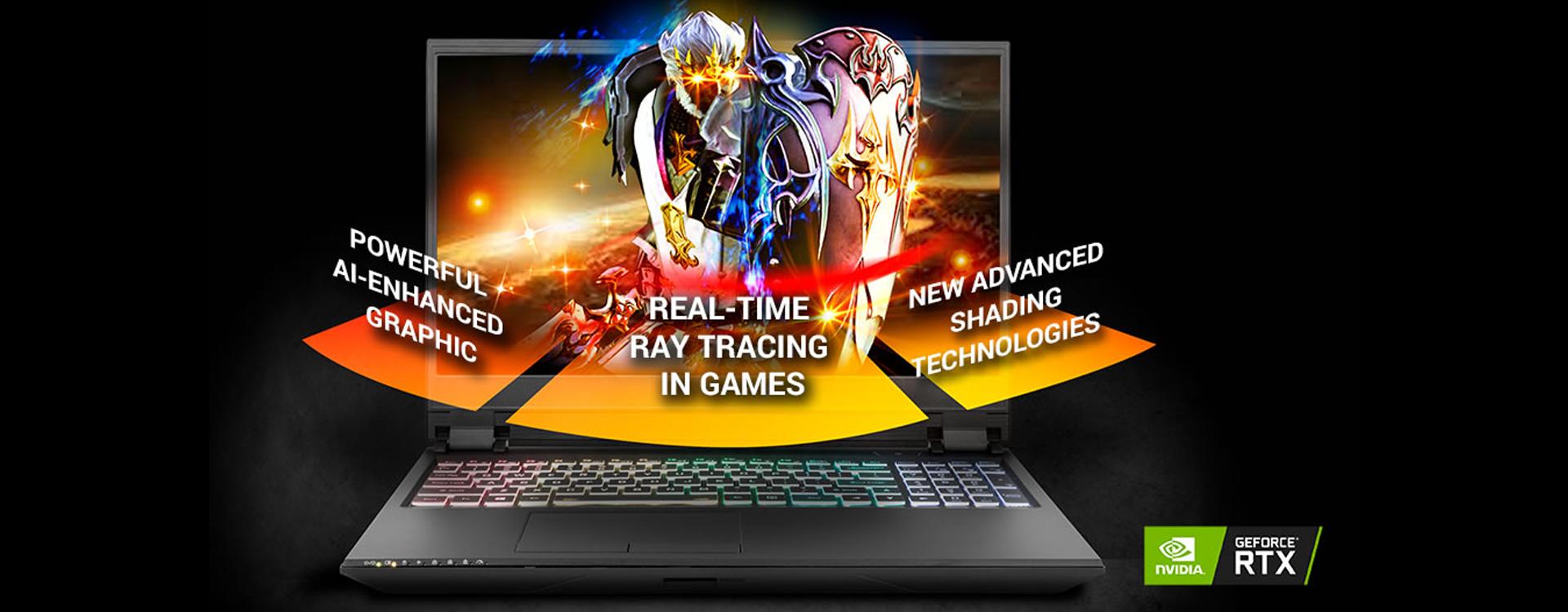 CLEVO PB50RF Intel Core i7-9750H | NVIDIA RTX 2070 VR | 4K