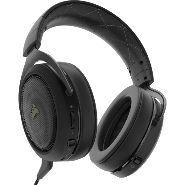 Corsair HS70 WIRELESS Gaming Headset — Carbon