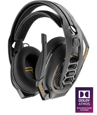 Plantronics RiG 800HD Wireless Gaming Headset Dolby Atmos for PC