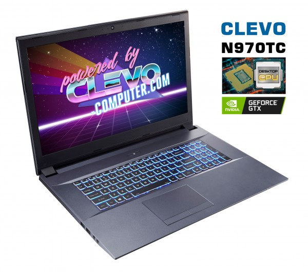 CLEVO N970TC Desktop Prozessor | NVIDIA GTX 1660Ti
