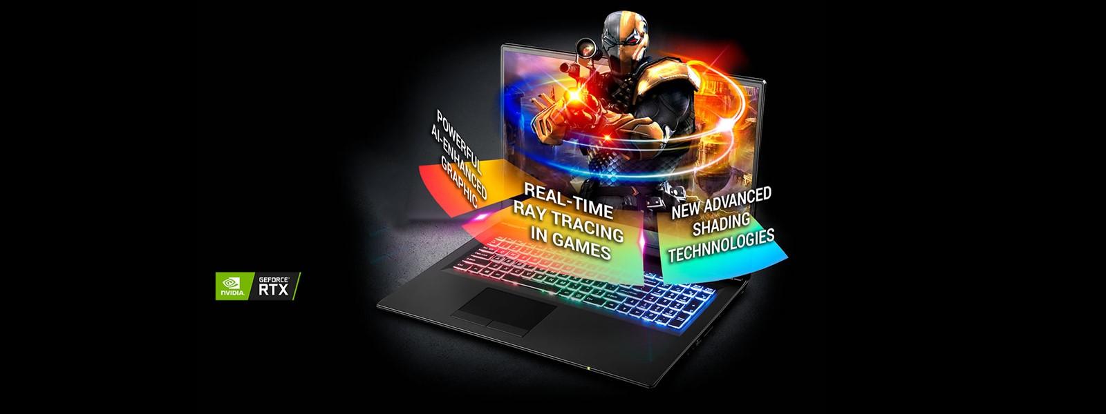 CLEVO P970RN Intel Core i7-9750H | Metal Chassis | NVIDIA RTX 2080