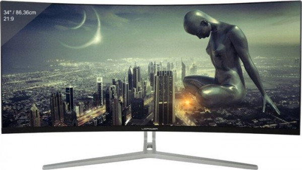 """LC-M34-UWQHD-100-C 34"""" Ultra Wide Curved PC Monitor"""