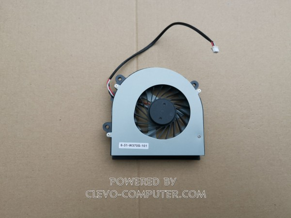 6-31-W370S-101 LÜFTER (FAN) MODULE CLEVO NOTEBOOKS