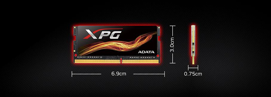 XPG-Flame-DDR4-Memory-Module-SO-DIMM-Dimensions