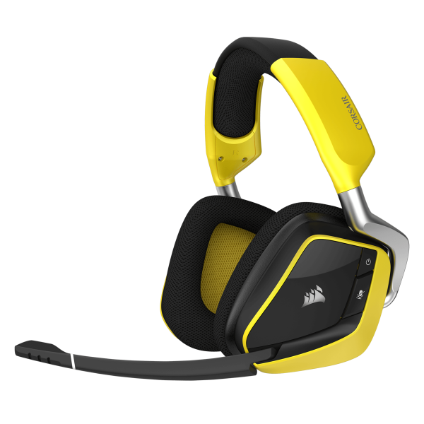 Corsair VOID PRO RGB Wireless SE Premium Gaming Headset with Dolby Headphone 7.1 - Yellow