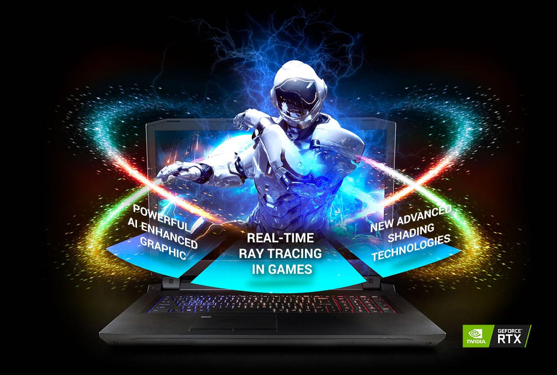CLEVO P775TM1-G Desktop CPU Laptop | NVIDIA RTX 2080 VR | MXM
