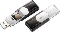 Apacer AH650 Fingerprint silver 64GB, USB-A 3.0 (AP64GAH650S-1)