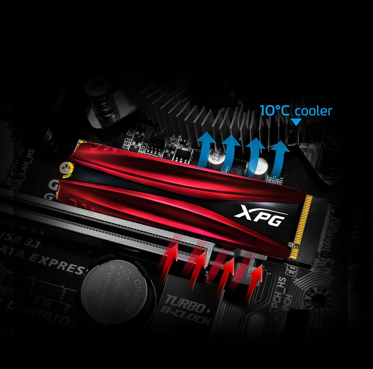 XPG-GAMMIX-S11-Pro-PCIe-Gen3x4-M-2-2280-Solid-State-Drive-Cool-Headed-in-the-Face-of-Battle