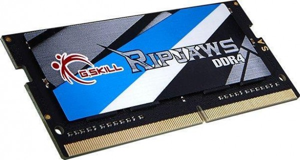 G.Skill RipJaws SO-DIMM 8GB, DDR4-3200, CL18-18-18-43 (F4-3200C18S-8GRS)