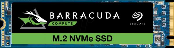 512GB Seagate BarraCuda 510 SSD M.2 | PCIe 3.0 x4 | NVMe | R/W 3400/2180 MB/s