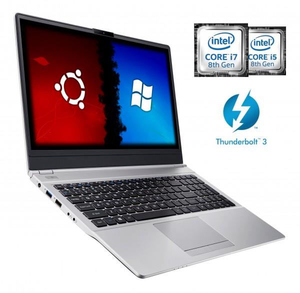 CLEVO N151ZU Intel 8th Whiskey Lake | Intel UHD Graphics 620 | Thunderbolt 3