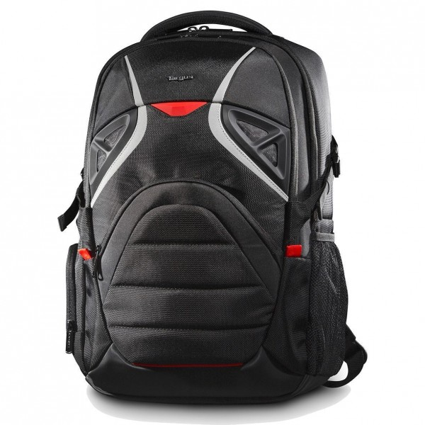 "Targus Strike 17.3"" Gaming Laptop Backpack - Black/Red"