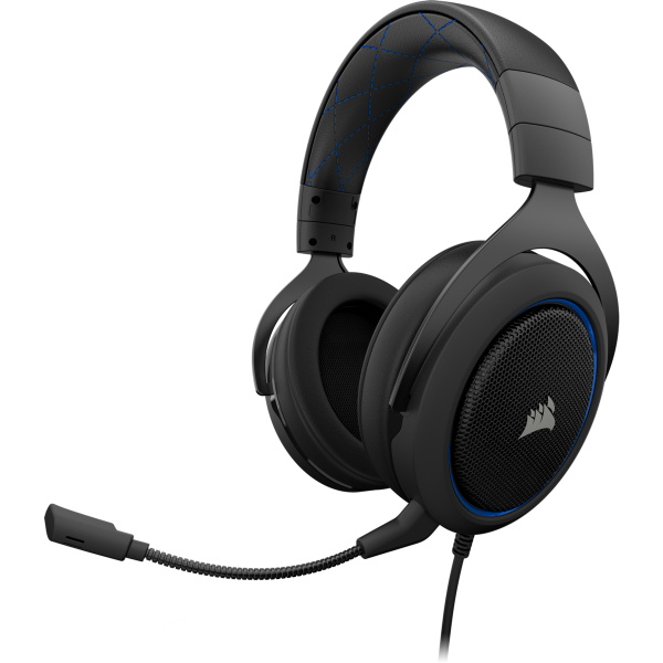 Corsair HS50 Stereo Gaming Headset — Blue