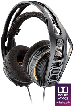 Plantronics RiG 400 with Dolby Atmos Gaming Headset