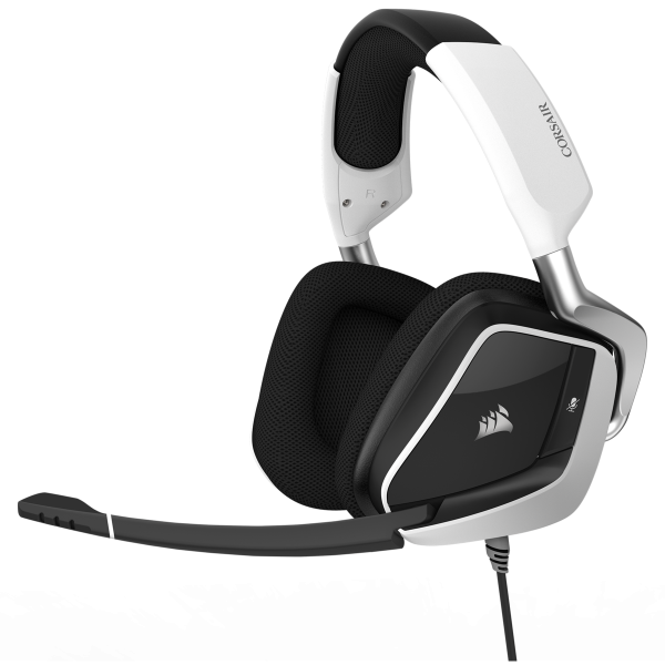Corsair VOID PRO RGB USB Premium Gaming Headset with Dolby Headphone 7.1 - White