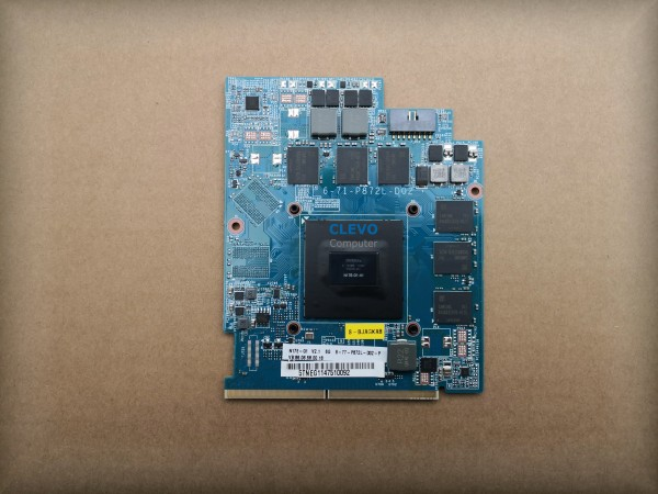 NVIDIA GeForce GTX 1060 6GB GDDR5 MXM 3.0
