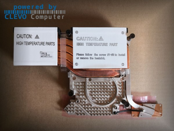 6-31-P270N-103 CPU THERMAL MODULE HEATSINK