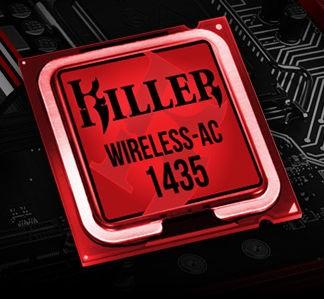 Killer Wireless AC 1435 ; Bluetooth 4.2 ; M.2 2230
