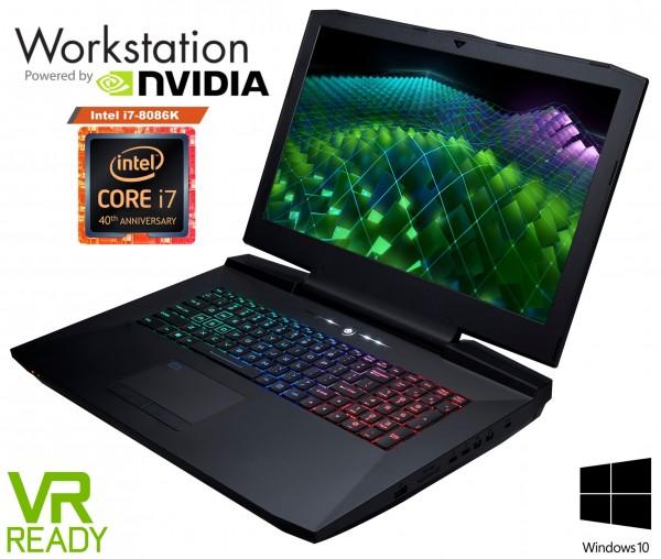 CLEVO P870TM-G UHD 4K Desktop Laptop | NVIDIA GTX 1070 | 1070 SLi | 1080 | MXM