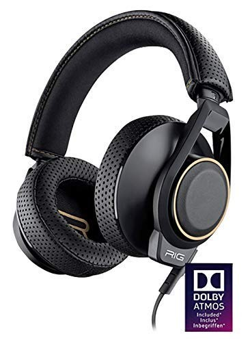 Plantronics RiG 600 with Dolby Atmos High Fidelity Gaming PC Headset