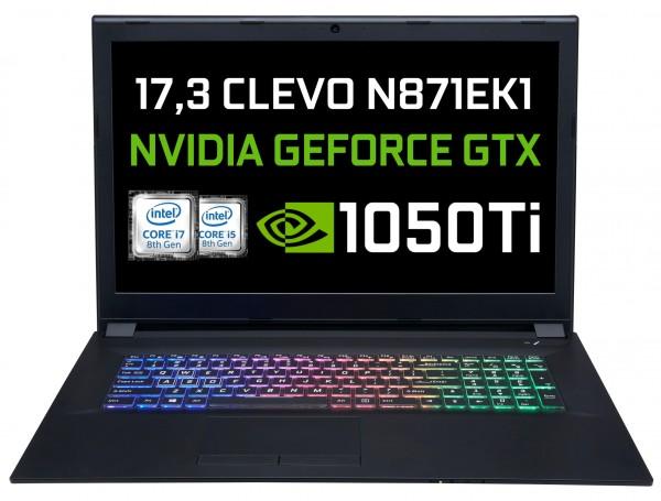 CLEVO N871EK1 Intel 8th Coffee Lake | NVIDIA GTX 1050Ti