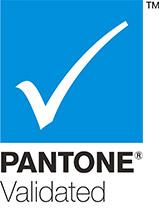 Pantone validierte Zertifizierung